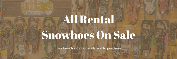 Rental Snowshoes For Sale